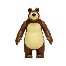 Boneco Urso de vinil Masha e o Urso 22 cm frente Produto Estrela