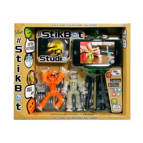 Bonecos Stikbot Studio Embalagem Estrela