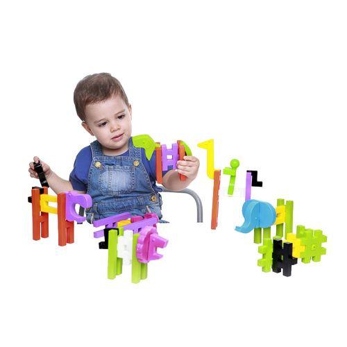 Big Blok Estrela Baby com criança Produto Estrela