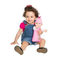 Minha Primeira Boneca Estrela Baby com criança Produto Estrela