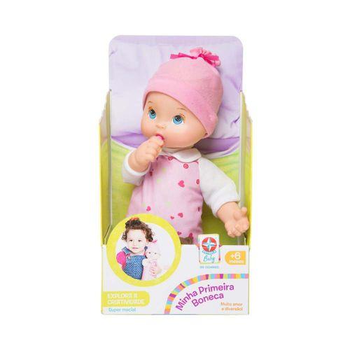 Minha Primeira Boneca Estrela Baby Embalagem Estrela