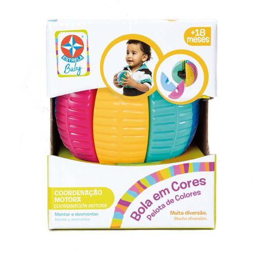 Bola em Cores Estrela Baby frontal Embalagem Estrela