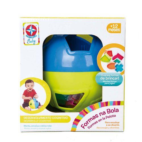 Formas na Bola Estrela Baby frontal Embalagem Estrela