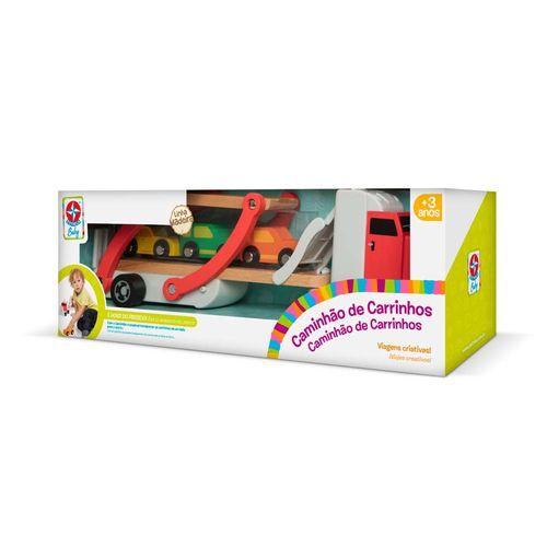 Caminhão de Carrinhos Estrela Baby Embalagem Estrela