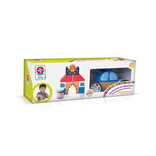 Construindo com Bloquinhos Departamento de Polícia Estrela Baby Embalagem Estrela