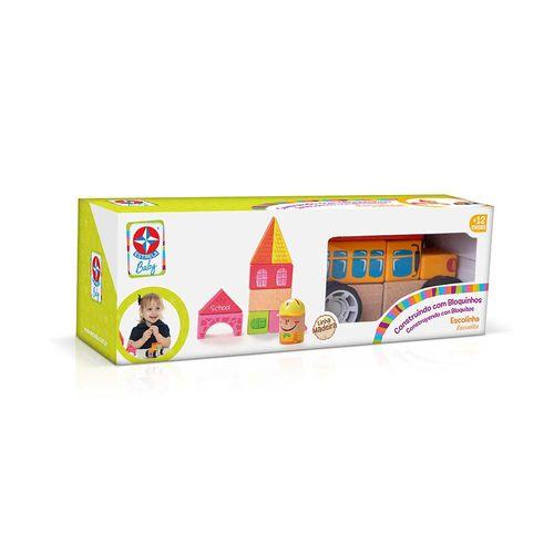 Construindo com Bloquinhos Escolinha Estrela Baby Embalagem Estrela