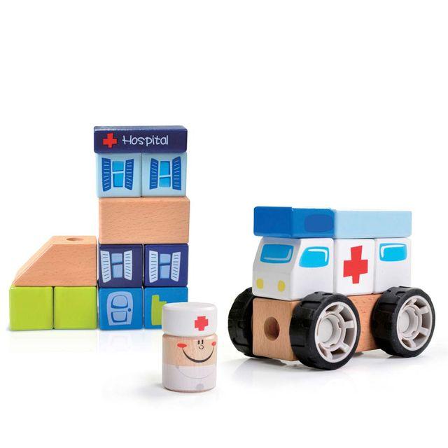 Construindo com Bloquinhos Emergência Estrela Baby Produto Estrela