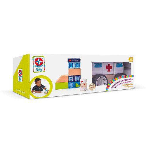 Construindo com Bloquinhos Emergência Estrela Baby Embalagem Estrela