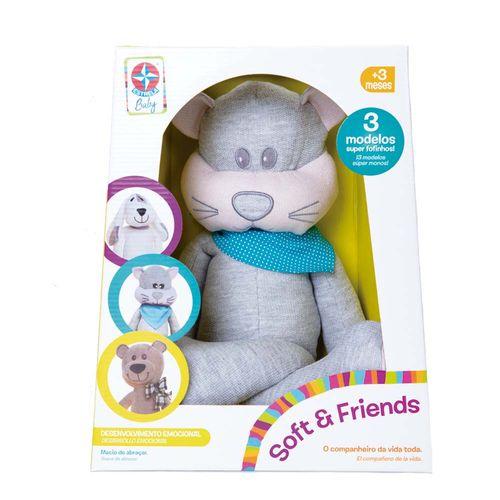 Soft Friends Miau Estrela Baby Embalagem Estrela