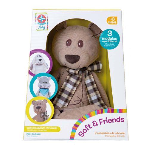 Soft Friends Ursinho Estrela Baby Embalagem Estrela