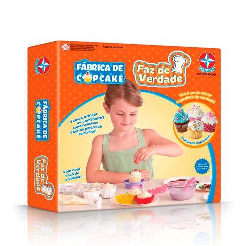Fábrica de Cupcake Faz de Verdade Embalagem Estrela