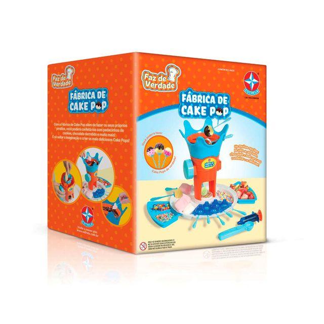 Fabrica de Cake Pop Faz de Verdade Embalagem Estrela