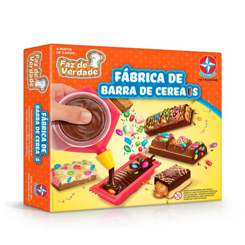 Fábrica de Barra de Cereais Faz de Verdade Embalagem Estrela