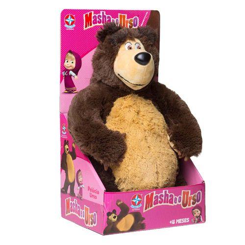 Pelúcia Urso Masha 40 cm Embalagem Estrela