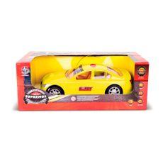 Carrinho de Controle Remoto Supremus Nitro Amarelo Embalagem Estrela