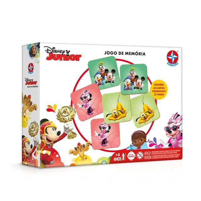 Jogo da Memória Disney Junior Embalagem Estrela