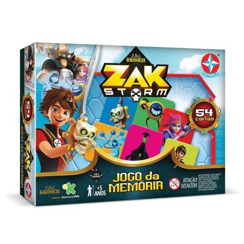 Jogo da Memória Zak Storm Embalagem Estrela