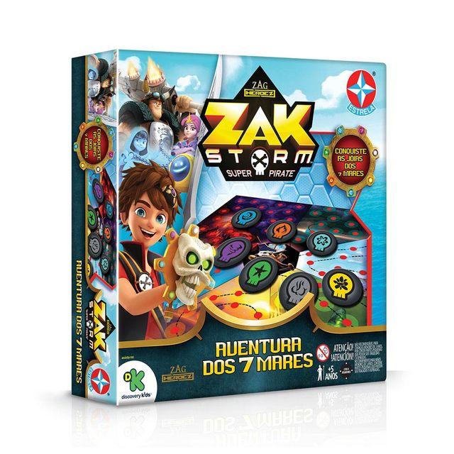 Jogo Zak Storm e a Aventura dos 7 Mares Embalagem Estrela