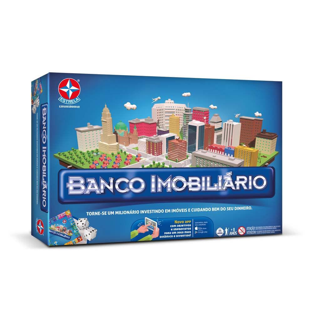 Jogo Banco Imobiliário com aplicativo - estrela 5cd495d328
