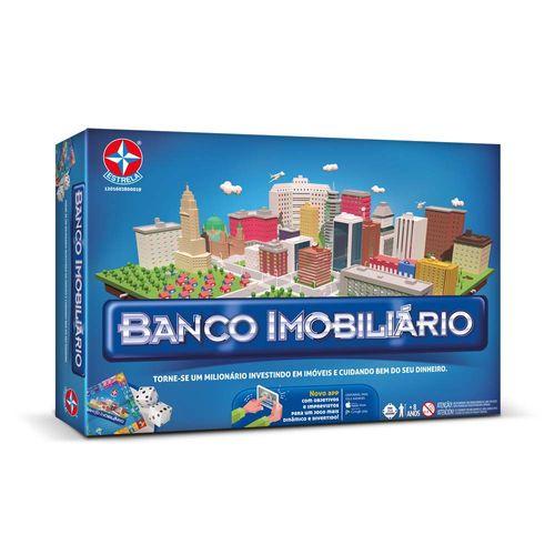 Jogo Banco Imobiliário com aplicativo Embalagem Estrela