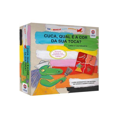 Coleção Ler e Brincar Basta Começar Cuca Embalagem Estrela-Cultural