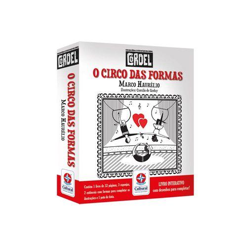 Coleção Cordel O Circo das Formas Embalagem Estrela-Cultural
