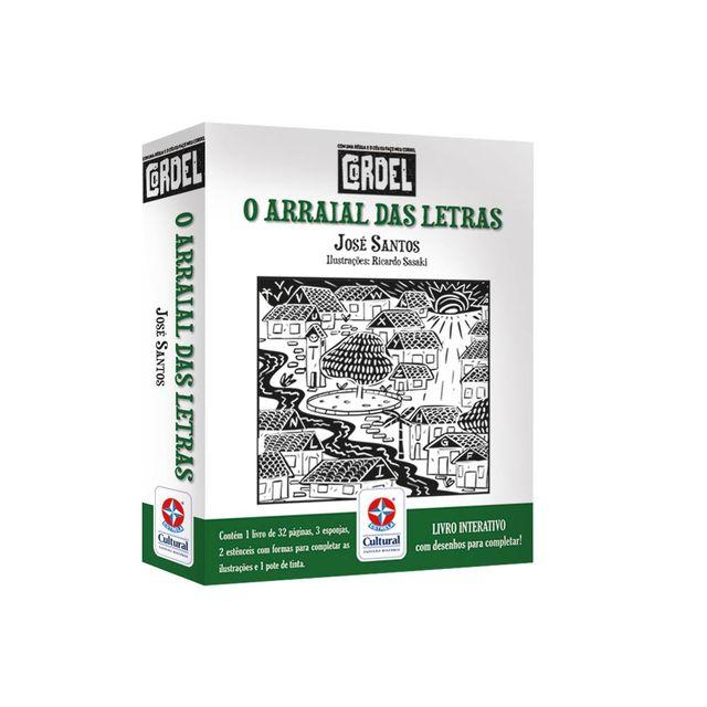 Coleção Cordel Arraial das Letras Embalagem Estrela-Cultural