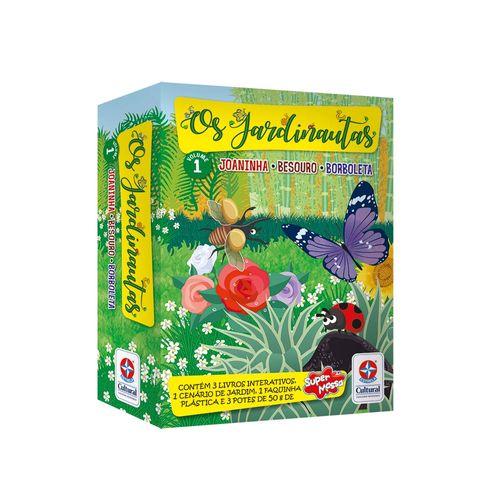 Coleção Jardinautas Volume 1 Embalagem Estrela-Cultural