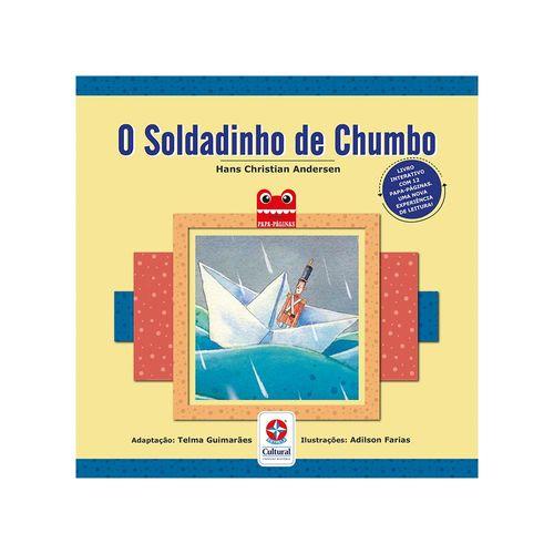 Coleção Papa-Páginas O Soldadinho de Chumbo Capa Estrela-Cultural