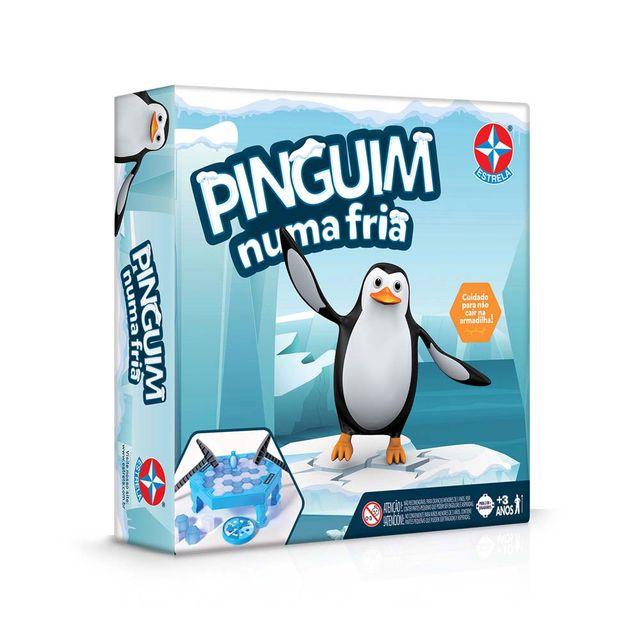 Jogo Pinguim Numa Fria Embalagem Estrela