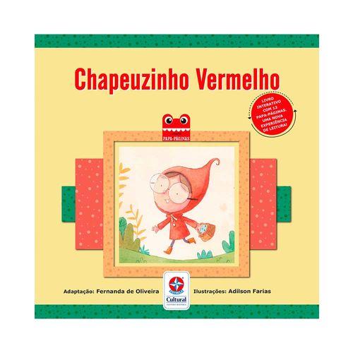 Coleção Papa-Páginas Chapéuzinho Vermelho Capa Estrela-Cultural