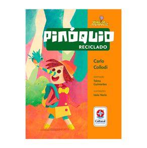 Coleção Você na Aventura Pinóquio Reciclado Capa Estrela-Cultural