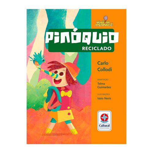 Coleção Você na Aventura Pinóquio Reciclado Capa Estrela-Cultural b9fd52eb92