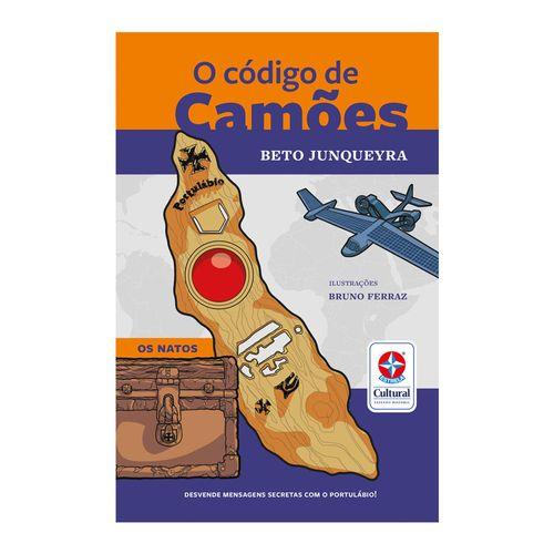 Livro O Código de Camões capa Produto Estrela Cultural