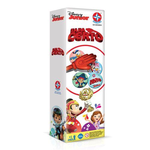 Jogo Tapa Certo Disney Junior Embalagem Estrela