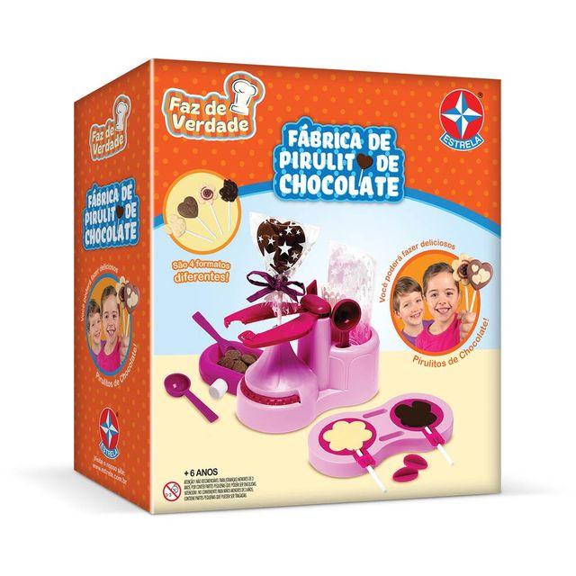 Fábrica de Pirulito de Chocolate Faz de Verdade Embalagem Estrela