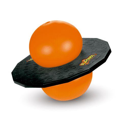 Brinquedo Clássico Pogobol preto e laranja Produto Estrela