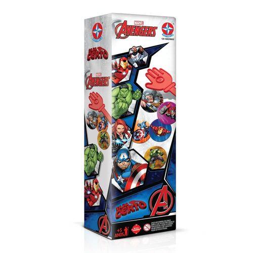Jogo Tapa Certo Avengers Embalagem Estrela