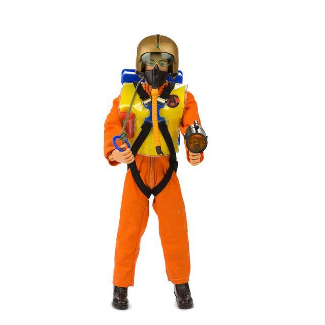 Boneco Falcon Salto Fantástico Missão Paraquedas equipado frente Produto Estrela