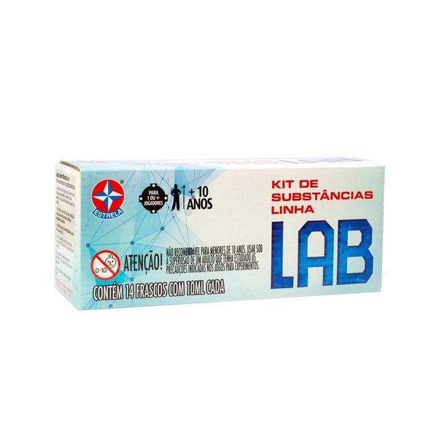 Kit refil linha Lab lateral Embalagem Estrela