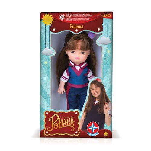 Embalagem Mini Boneca Poliana Estrela