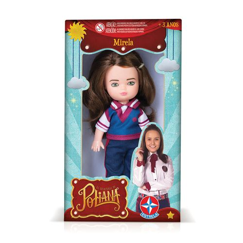 Embalagem Mini Boneca Mirela Estrela