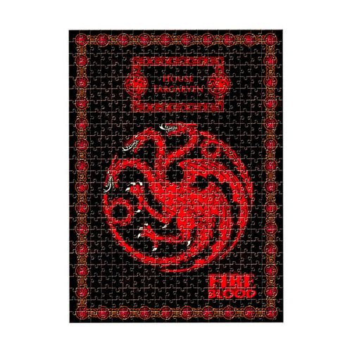 Quebra-Cabeça Game of Thrones Casa Targaryen Produto Estrela