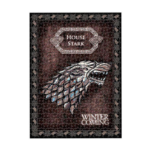 Quebra-Cabeça Game of Thrones Casa Stark Produto Estrela