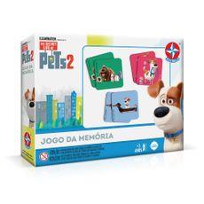 Jogo da Memória Pets 2 Embalagem Estrela