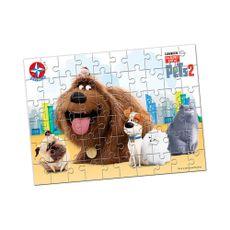 Quebra-Cabeça Pets 2 60 peças Produto Estrela