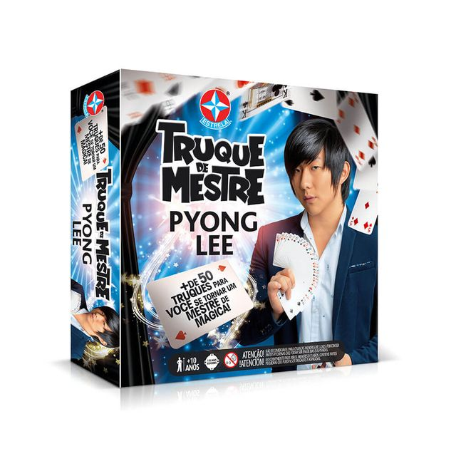 Jogo Truque de Mestre Pyong Lee Embalagem Estrela