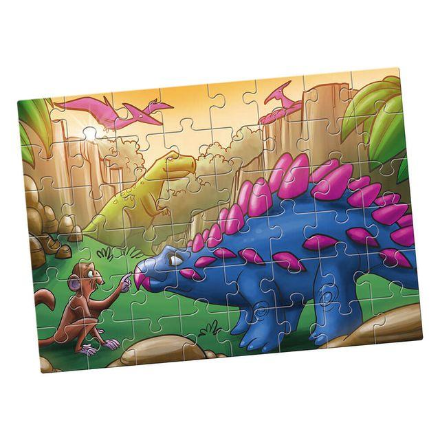 Quebra-Cabeça Grandão Dinossauros 48 peças Produto EstrelaQuebra-Cabeça Grandão Dinossauros 48 peças Produto Estrela