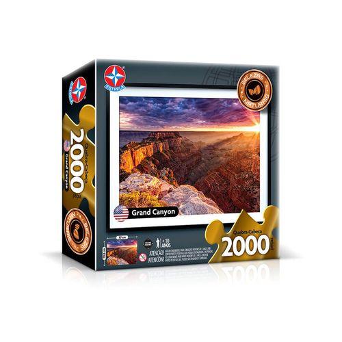 Quebra-Cabeça Grand Canyon 2000 peças Embalagem Estrela