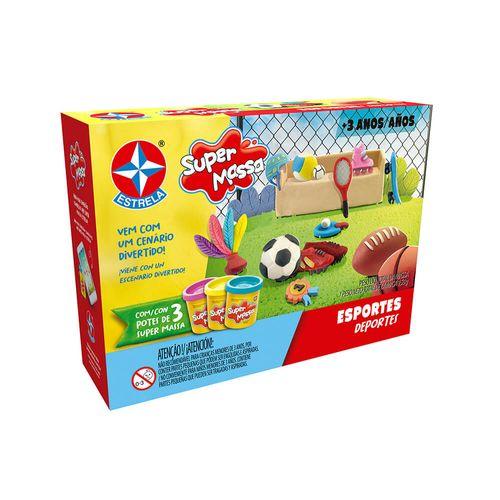 Massinha Super Massa Esportes Embalagem Estrela